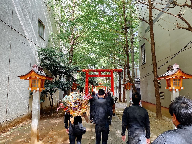 花園神社⛩ 酉の市